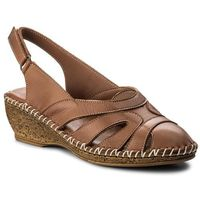 Lanqier Sandały - 40c1429 brown