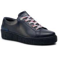 Sneakersy TOMMY HILFIGER - Glitter Detail Dress Sneaker FW0FW04143 Midnight 403