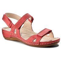 Helios Sandały - 205 czerwony