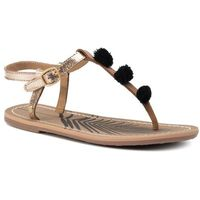 Sandały PEPE JEANS - Malibu Fun Basic PLS90409099 Gold 099, kolor żółty