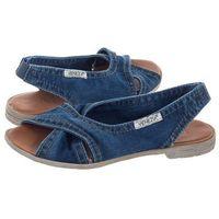 Sandały granatowe jeans 1058-z38 jean (ve296-a) marki Venezia