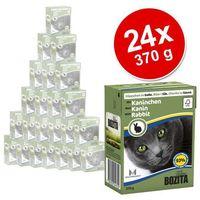 Bozita naturals Bozita dla kota z krewetkami kawałki w sosie kartonik 370g - - zestaw 6 + 1 gratis [dostawa od 8,59zł, firma rodzinna]