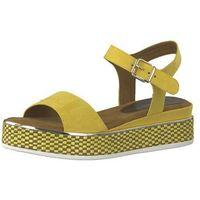 MARCO TOZZI Sandały z rzemykami żółty, w 7 rozmiarach