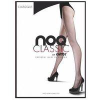 Rajstopy Knittex Noq Classique kabaretka 2-S, czarny/nero, Knittex, kolor czarny