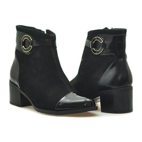 Botki 534 czarne marki Kiera