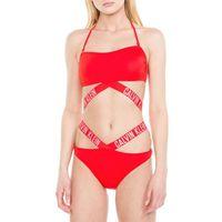 Calvin Klein Swimwear INTENSE POWER Góra od bikini red, w 2 rozmiarach