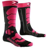 X-socks X socks control 2.0 skarpety sportowe anthracite/fuchsia