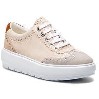 Sneakersy - d kaula a d92ana 00022 c5k1l cream/lt grey, Geox