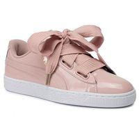 Sneakersy PUMA - Basket Heart Patent Wn's 363073 11 Peach Beige/Peach Beige