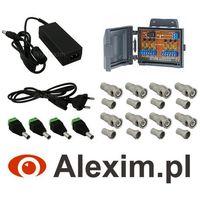 Pakiet akcesoriów do zestawów ahd na 2 kamery marki Alexim