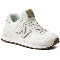 Sneakersy NEW BALANCE - WL574CVB Beżowy