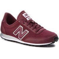 Sneakersy NEW BALANCE - U410BWG Bordowy, kolor czerwony