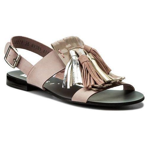 Sandały NESSI - 18379 Róż 11, kolor różowy