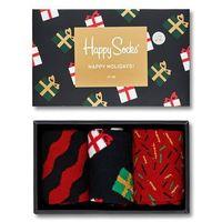 - skarpetki giftbox christmas melody (3-pack), Happy socks