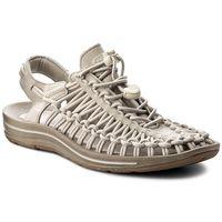 Sandały KEEN - Uneek 1018684 Agate Grey/Silver Birch, kolor szary