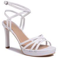 Sandały GUESS - Beachie FL6BEE LEA03 WHITE, kolor biały