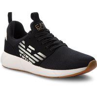 Ea7 emporio armani Sneakersy - sneaker fusion racer u x8x023 xcc05 black 00002