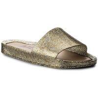 Klapki MELISSA - Beach Slide Shine Ad 32291 Mixed Golden Glitter 03771, w 2 rozmiarach