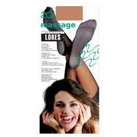 Podkolanówki masujące massage 20 den marki Lores