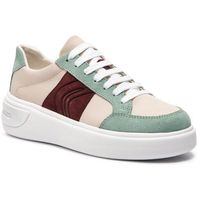 Sneakersy GEOX - D Ottaya F D92BYF 01122 C5K3U Cream/Lt Green