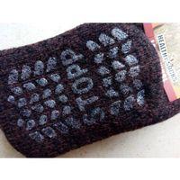 Skarpety antypoślizgowe rozgrzewające wełniane (80%) thermal - rozm. 36-39 marki Nebat (turcja)