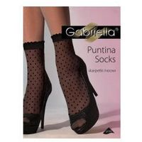 Skarpetki damskie wzorzyste puntina , Gabriella