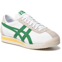 Sneakersy - onitsuka tiger corsair 1183a357 white/green 101 marki Asics