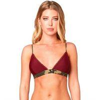 strój kąpielowy FOX - Dark Forest Top Cranberry (527) rozmiar: L