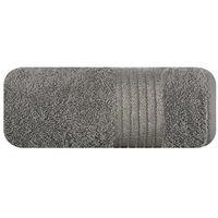 Eurofirany Ręcznik wendy szary 50x90 70196 - odbiór w 2000 punktach - salony, paczkomaty, stacje orlen (5900811510031)