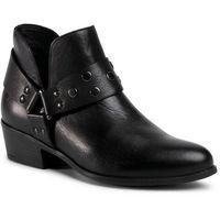 Botki LASOCKI - T70-03 Black, kolor czarny