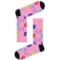 Skarpety Happy Socks Cat (koty) pink M, MJA01-3300