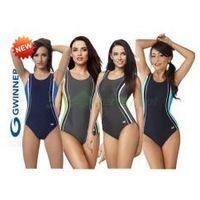 AGATA klasyczny strój kąpielowy pływacki 4 kolory gWINNER + Czepek | WYSYŁKA 24h, AGATA