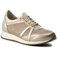 Sneakersy - 27-4378-672/h16/g45 złoto marki Eksbut