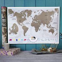Mapa Zdrapka Świat Premium© język polski - Mapa Zdrapka Świat Premium© język PL polski