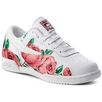 Sneakersy - original fitness embroidery 5fm00014.155 white/desert flower/black marki Fila