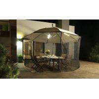 Parasol Ogrodowy Ibiza 4,2m z oświetleniem LED i Moskitierą