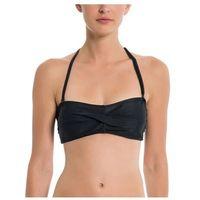 Strój kąpielowy - twist bandeau top black beauty (bk11179) rozmiar: m marki Bench
