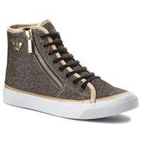 Sneakersy EMPORIO ARMANI - X3Z017 XL487 K002 Black/Gold
