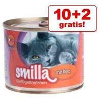 Smilla 10+2 gratis! z drobiem, 12 x 200 g - drób z jagnięciną (4260077044062)