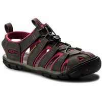 Sandały KEEN - Clearwater Cnx Leather 1014370 Magnet/Sangria, w 5 rozmiarach