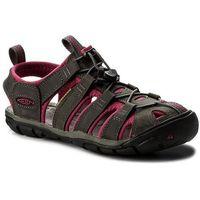 Sandały KEEN - Clearwater Cnx Leather 1014370 Magnet/Sangria, w 6 rozmiarach