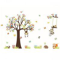 Naklejka Ścienna Drzewo Małpi Gaj XXXL, G3AB-140A11