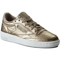Buty - club c 85 melted metal bs7901 pearl met/grey gold/white, Reebok