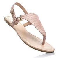 Sandały japonki jasnoróżowy, Bonprix, 35-42