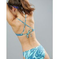 swim reversible crossback bikini top - multi, Nike, S-M