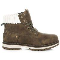 Buty ideal shoes Zielone traperki