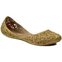 Baleriny MELISSA - Campana Zig Zag II Ad 31513 Gold Glitter 51969, kolor żółty