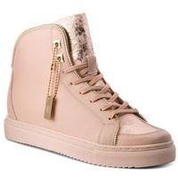 Sneakersy BADURA - 6337-69-M Łosoś, kolor różowy