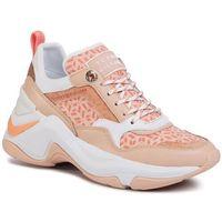 Sneakersy - internal wedge monogram sneaker fw0fw04713 island coral sn7, Tommy hilfiger, 35-42