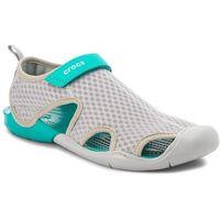 Sandały CROCS - Swiftwater Mesh Sandal W 204597 Light Grey, w 3 rozmiarach